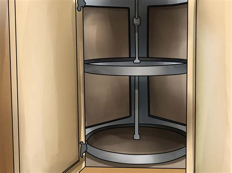 how to measure for a lazy susan corner cabinet lazy susan 3 ways to measure for a lazy susan wikihow