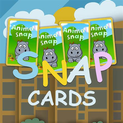 printable animal snap cards animal snap cards by seng hoong lim