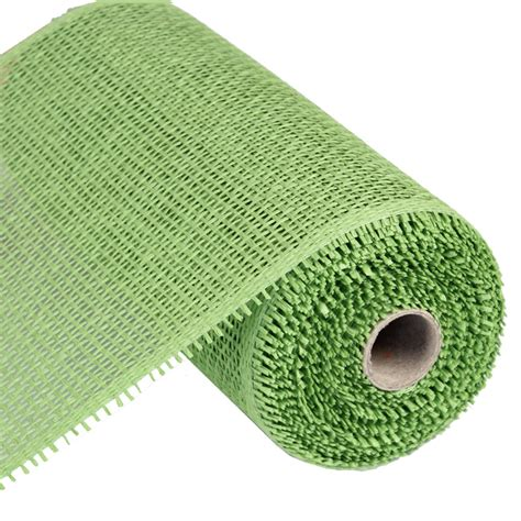 How To Make Paper Mesh - woven paper mesh lime green