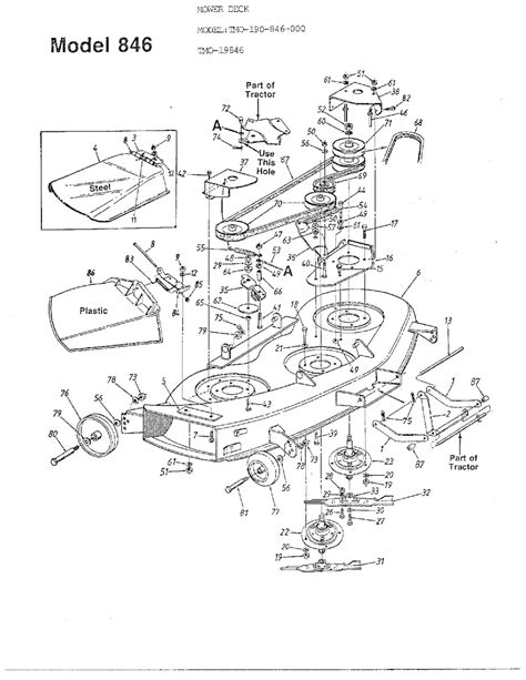 wiring diagram for a sears mower craftsman 42 mower