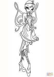 winx princess coloring pages stella with a dress coloring page winx princess