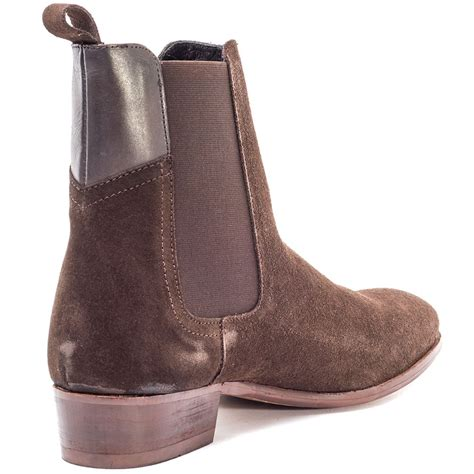 popular h by hudson watts mens chelsea boots brown