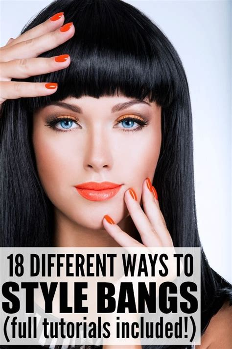 7 Different Styles Of Bangs by Best 25 Diy Side Swept Bangs Ideas On Side