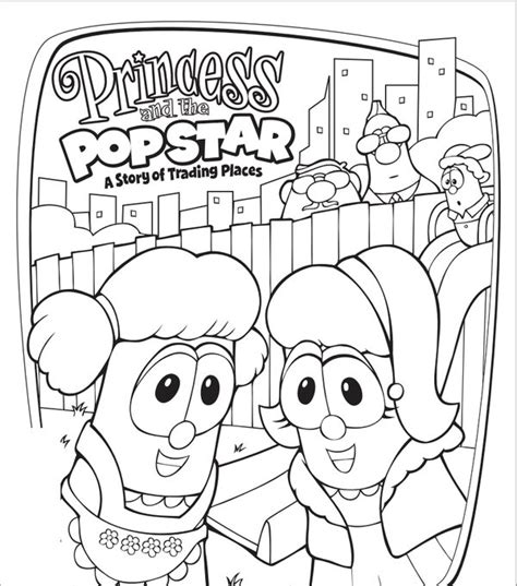 printable coloring pages veggie tales veggietales madame blueberry pages coloring pages
