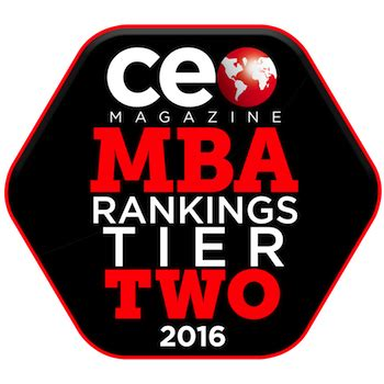 Mid Tier Mba by Ceo Magazine Recongized Oakland S Mba