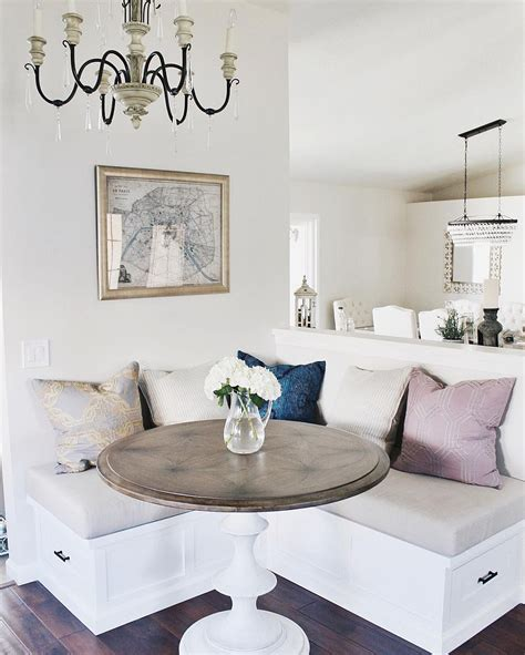 2014 comfort breakfast nook decorating ideas interior the table for 2 20 small breakfast nooks with space