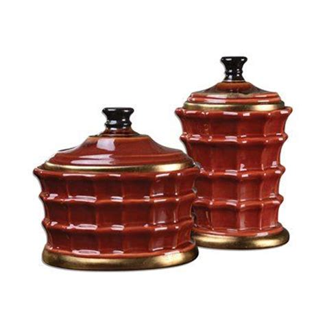 red ceramic canisters decorating pinterest 324 best images about canister and canister sets on
