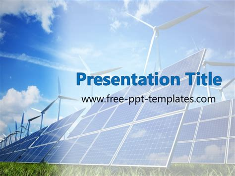 energy ppt template