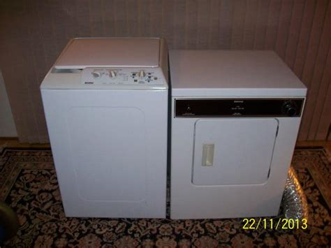 Where To Buy Apartment Size Washer And Dryer Apartment Sized Admiral Dryer And Kenmore Washer Oak Bay