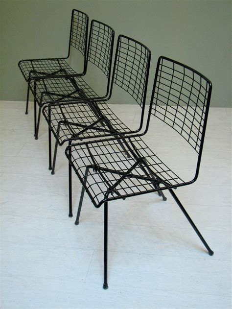 mid century modern outdoor patio furniture set of 4