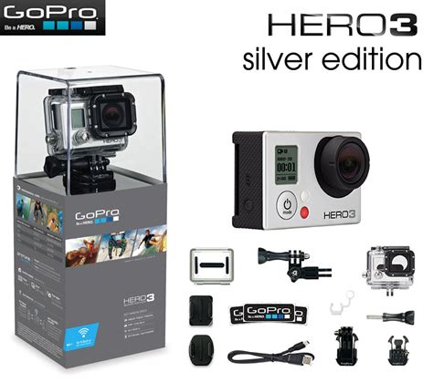 Gopro Gopro 3 Silver New giveaway win a gopro 3 silver edition from earth to echo