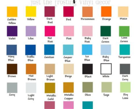 superb boy paint color chart 11 just the frosting vinyl color swatc hes laurensthoughts