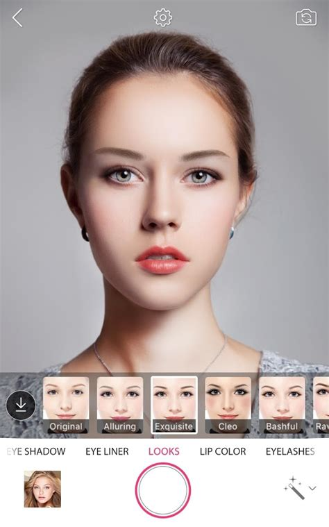 makeover photo app youcam makeup selfie camera magic makeover android
