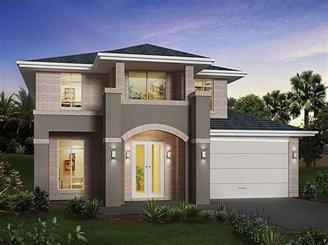 2 story modern house plans two story house design modern design home modern house