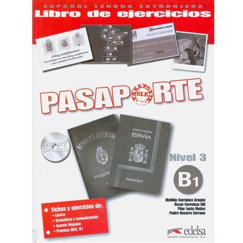 pasaporte libro de ejercicios con cd audio nivel 3 b1