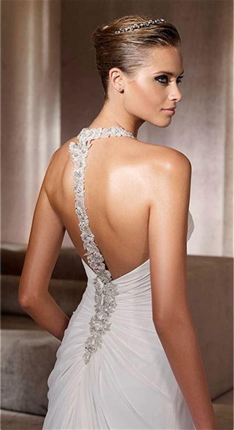 fotos vestidos de novia con escote en la espalda derrocha sensualidad escote en la espalda en vestidos de