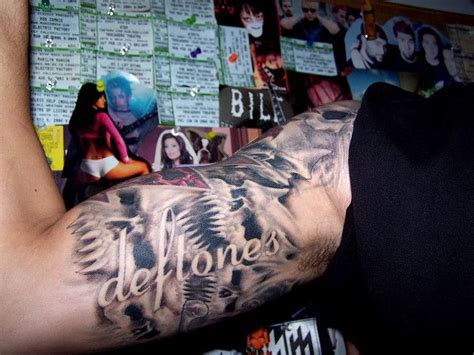 deftones tattoo 52 best deftones images on