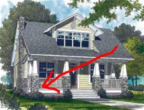 what style house do i have leaning porch pillar on craftsman style house doityourself com community forums