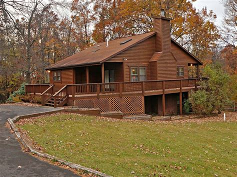 Wisp Ski Resort Cabin Rentals by Warm Inviting Creek Lake Cabin With Vrbo