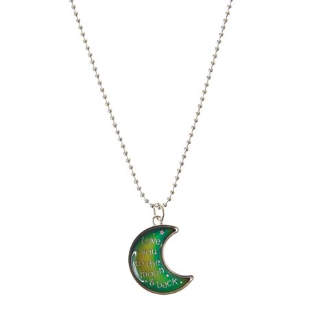mood rings at claire s images frompo 1 crescent moon pendant mood necklace claire s us