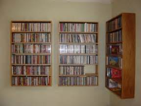Bookcase Dvd Storage Jeremy Barnes Furniture Maker Stylish Solid Wood Cd