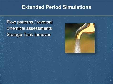 extended xml attrition pattern matching algorithm water distribution planning