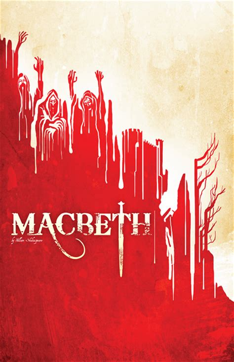 strong themes in macbeth macbeth poster design promotional material by subplot