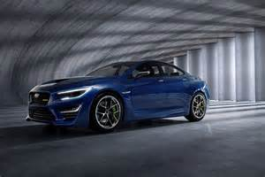Subaru Wrx Concept The Subaru Wrx Concept Ain T No Sissified Impreza The