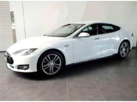 2015 Model S Tesla 2015 Tesla Model S 70d Awd 100 Electric White Lease