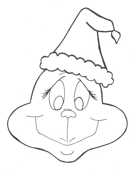 coloring page printable grinch coloring pages coloring me