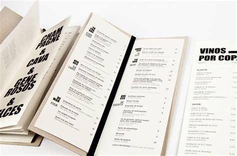 design menu inspiration 45 remarkable food drink menu designs web graphic