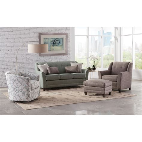 mid size sofas crossword smith brothers 236 236 11 casual mid size sofa with flared