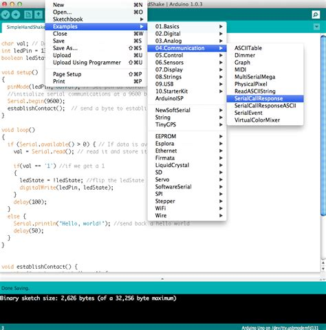 code to arduino connecting arduino to processing learn sparkfun com
