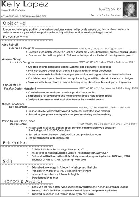 wardrobe stylist resume fashion stylist resume objective resume cover letter exle the amazing