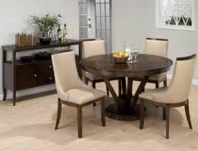 Round Dining Room Sets | jofran webber 6 piece round pedestal dining room set in