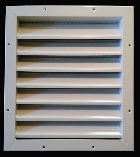 Garage Door Vents by Aluminum Air Intake Vent Cool Garage