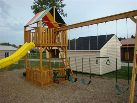 swing sets play systems