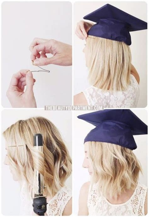 hairstyles when wearing a graduation cap 25 best ideas about graduation makeup on pinterest prom