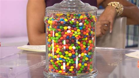 Skittles Jar can you guess how many skittles are in this jar today