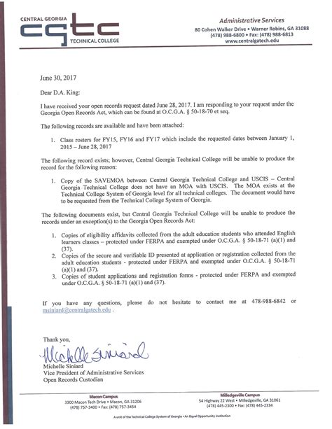 Response Letter To Records Request The Dustin Inman Society 187 Open Records Request Ierb Response From Central