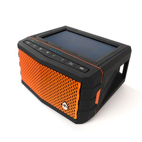 boat portable speakers review ecoxgear soljam solar powered bluetooth speaker west marine