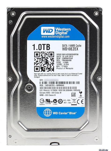 Harddisk Wd Blue 1tb Sata3 64mb หน าท 1 western digital caviar blue wd10ezex 1tb 7200 rpm 64mb cache sata 6 0gb s 3 5