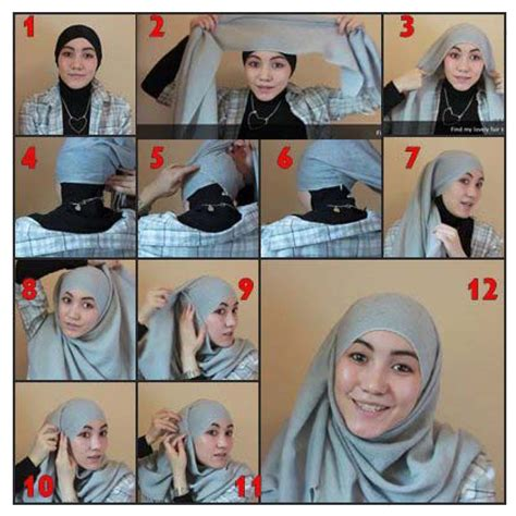 tutorial hijab in style hijab on pinterest hijabs hijab tutorial and hijab styles