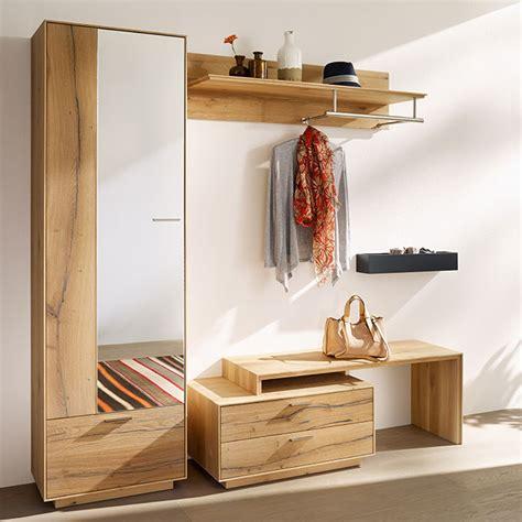 moderne garderobe massivholz garderoben dielenm 246 bel casa dormagen