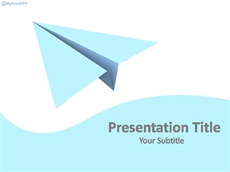 airplane powerpoint template free airport powerpoint templates myfreeppt