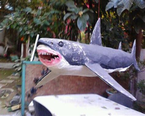How To Make A Paper Mache Shark - papier mache galleries selim turkoglu