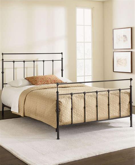 gold metal bed kingston mahogany gold california king metal bed