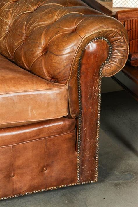 Leather Chesterfield Sofa For Sale 1960s Leather Chesterfield Sofa For Sale At 1stdibs