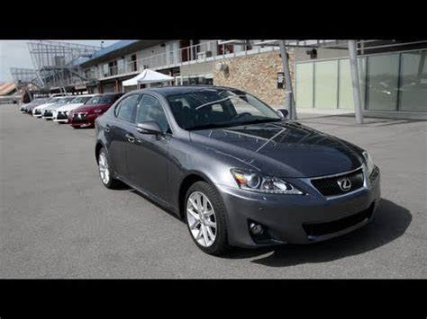 2013 Lexus Is 350 Awd 2013 Lexus Is 350 Awd At Mis Evaluation Course Wr Tv