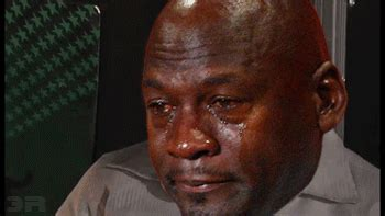 Memes And Gifs - michael jordan crying gif find share on giphy